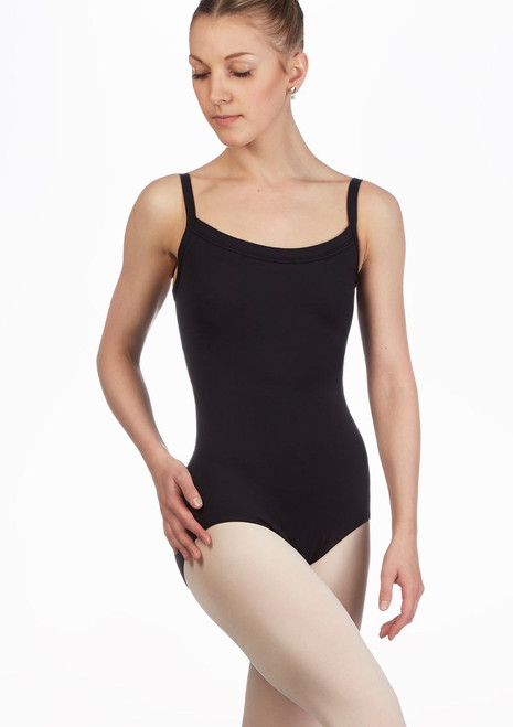 Capezio Banksia BraTek Leotard Black main image. [Black]