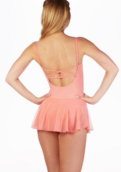 Freed Lali Skirted Leotard Pink. [Pink]