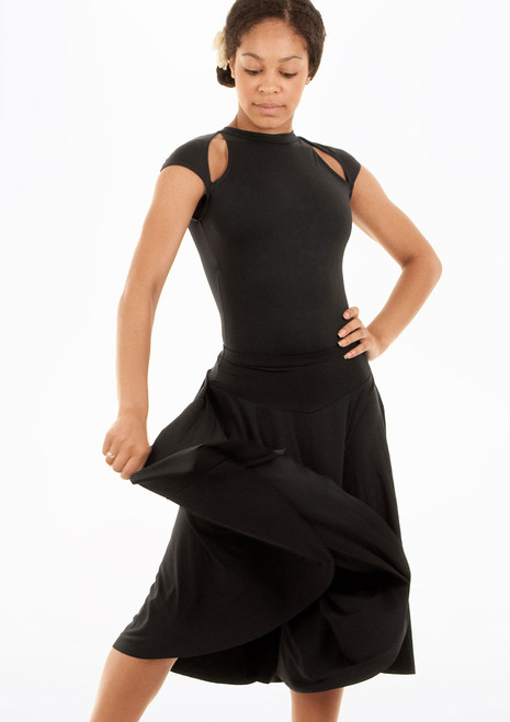 Mirella Circle Skirt Black [Black]