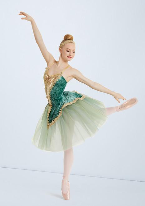 Weissman Dancing In The Dark Green front. [Green]