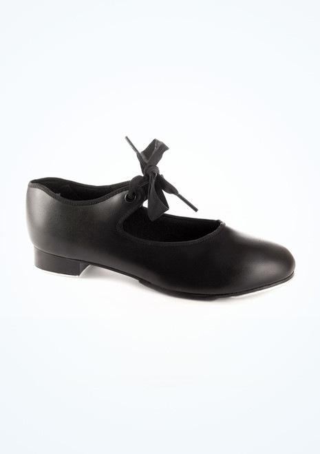 Capezio Junior Tyette 925 Tap Shoe Black. [Black]
