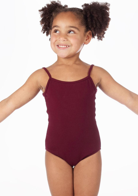 Bloch Camisole Cotton Leotard Red. [Red]