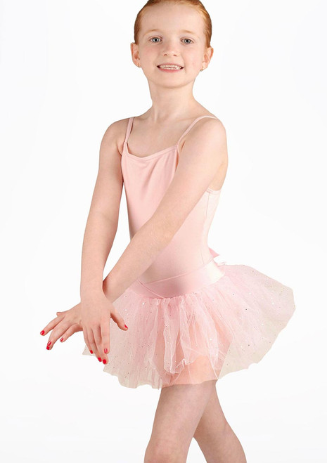 Capezio Bluebell Camisole Tutu Dress Pink. [Pink]