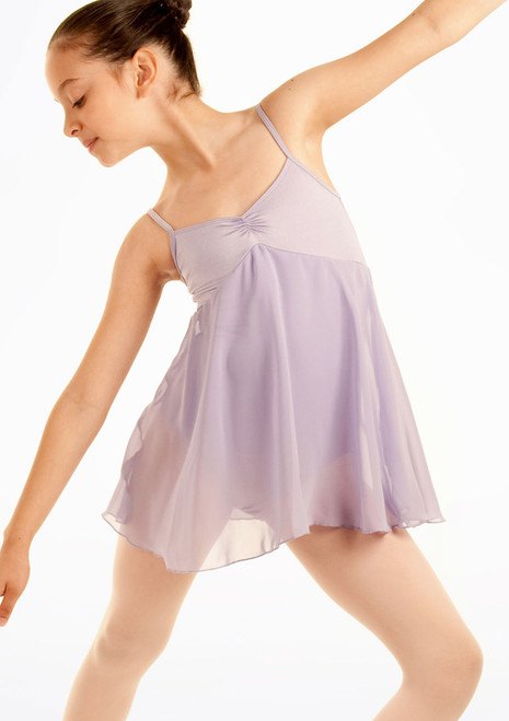 Bloch Juliet Skirted Leotard Purple. [Purple]