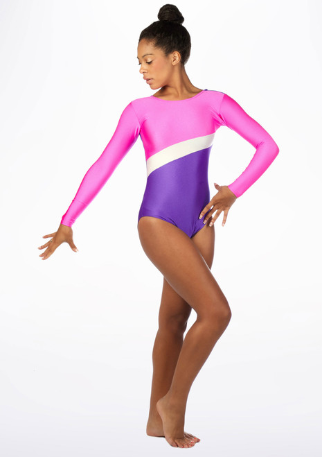 Tappers & Pointers GYM2 Gymnastics Leotard Multi-Colour. [Multi-Colour]