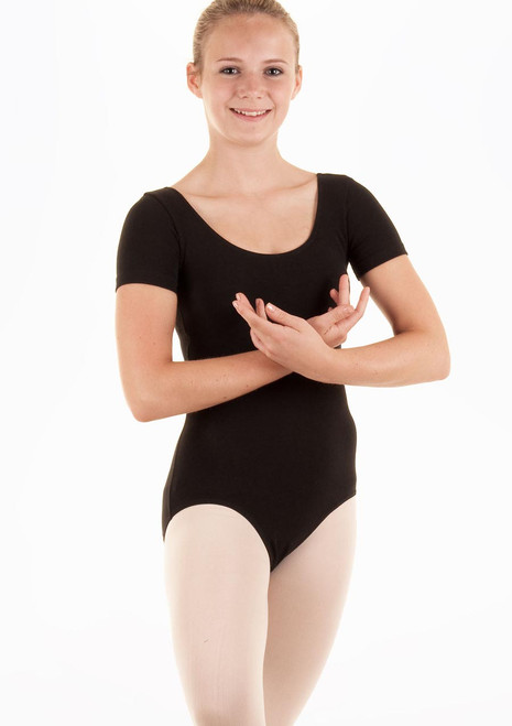 Bloch Cavalier Teen Leotard Black. [Black]