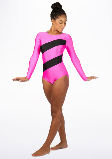 Tappers & Pointers GYM3 Gymnastics Leotard Multi-Colour. [Multi-Colour]