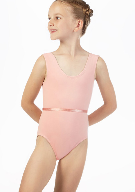 Move Coco Leotard Pink front. [Pink]