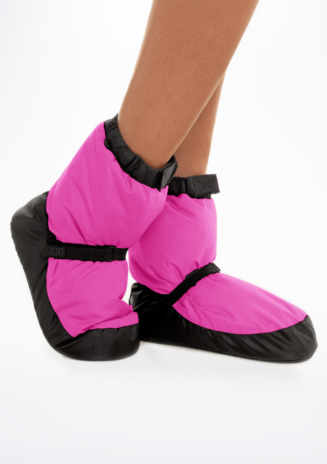 Bloch Warm Up Bootie - Kids Pink main image. [Pink]