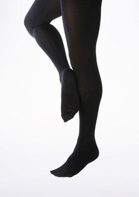 Capezio Mens Footed Dance Tights Black. [Black]