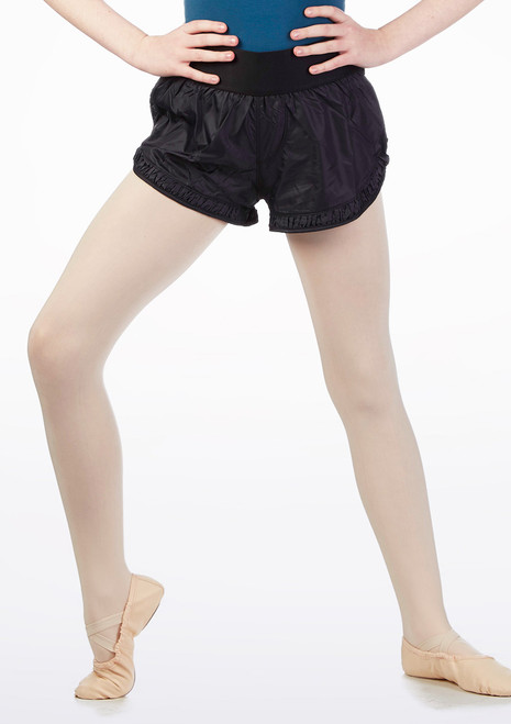 Mirella Gather Warm Up Shorts* Black. [Black]