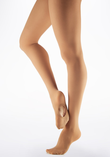 Gaynor Minden Convertible Microfibre Tights Tan main image. [Tan]