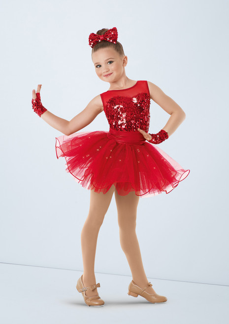 Weissman Get Your Sparkle On Red front. [Red]