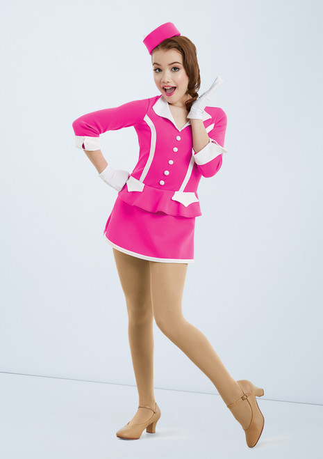 Weissman Fly Me To The Moon Pink front. [Pink]