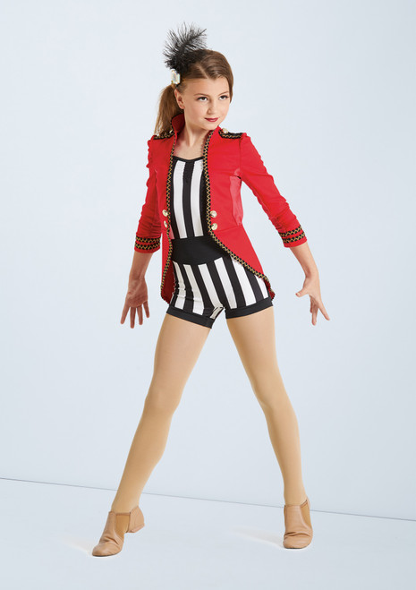 Weissman Circus Black-Red front. [Black-Red]