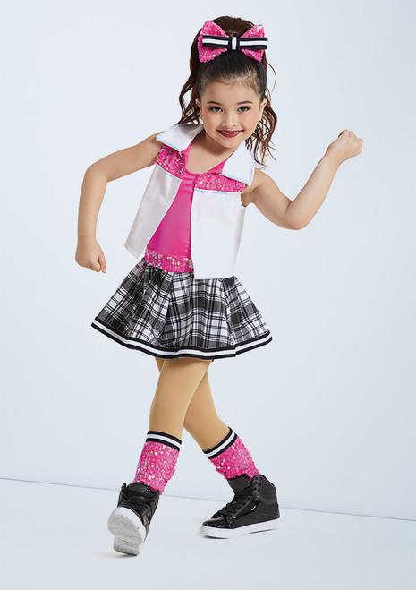 Weissman High Top Shoes Pink front. [Pink]
