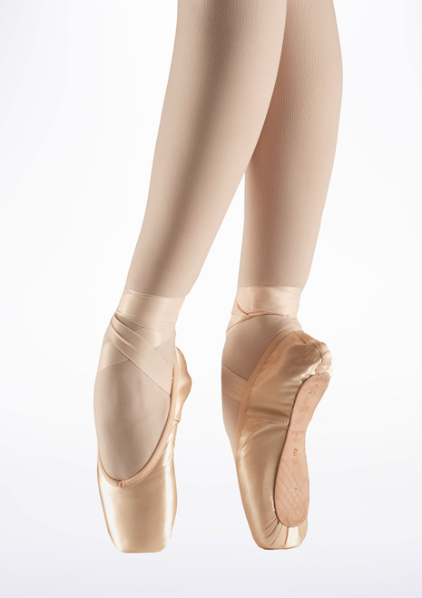 Bloch Aspiration S0105L Pointe Shoe Pink. [Pink]