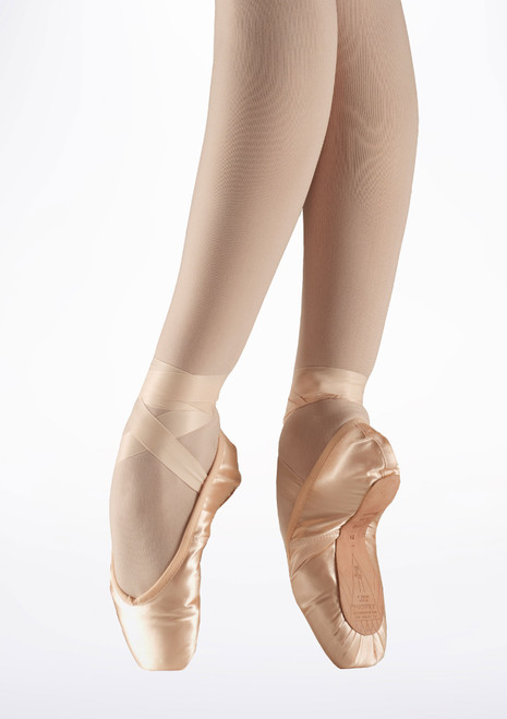 Bloch Demi Pointe Training Pointe Shoe Pink. [Pink]