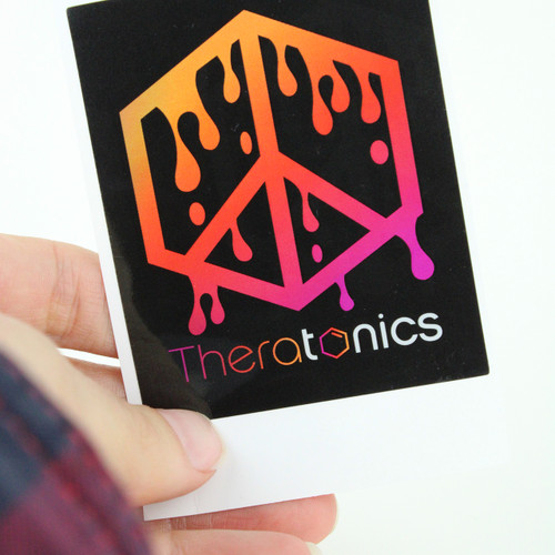 Theratonics drip Sticker