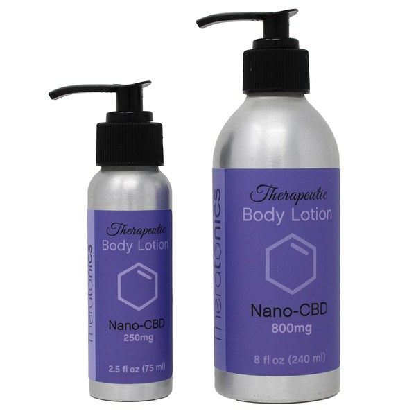 Therapeutic body lotion, great for massages or using at home on areas of discomfort, areas of pain or inflammation.