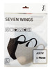 Seven Wings 7 Wings 3D mask color Black