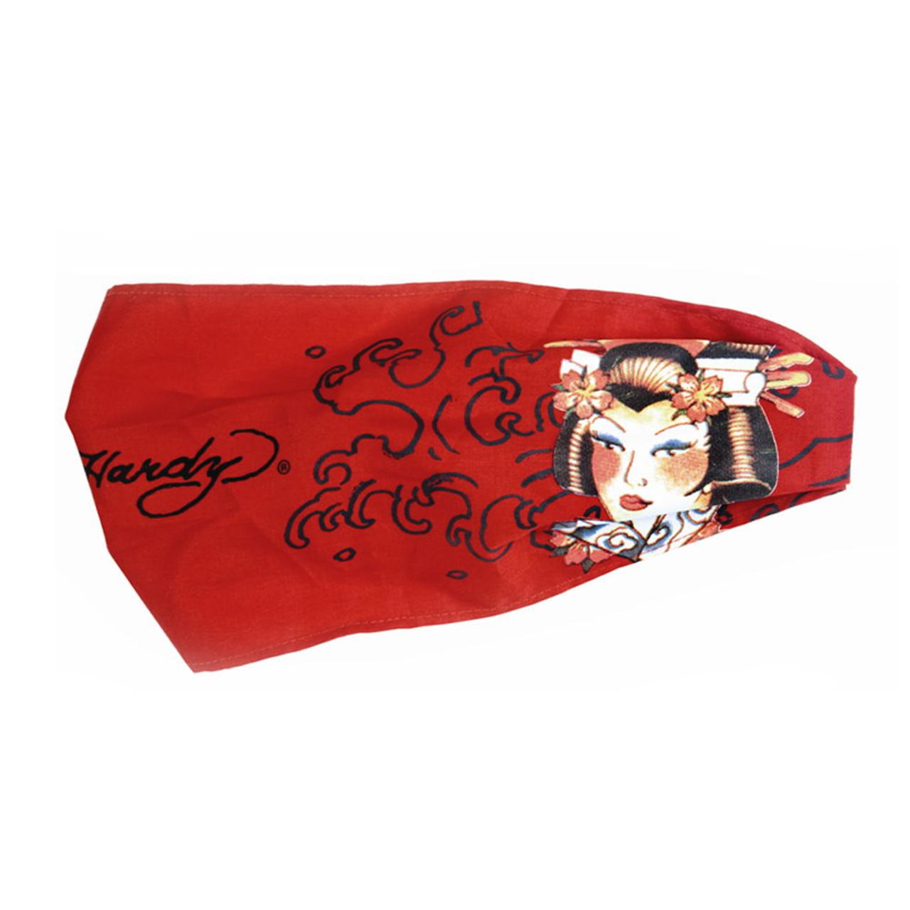 Red Gisha Soft Head Band