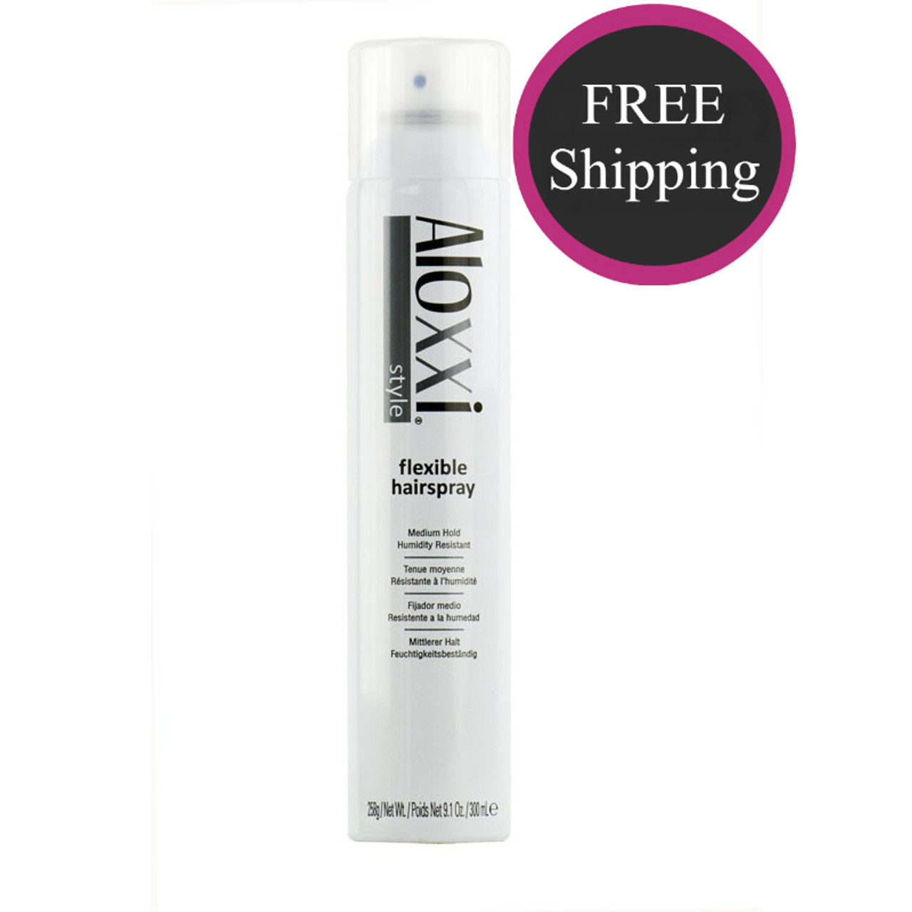 Aloxxi Flexible Hairspray 9.1 oz: Free shipping!