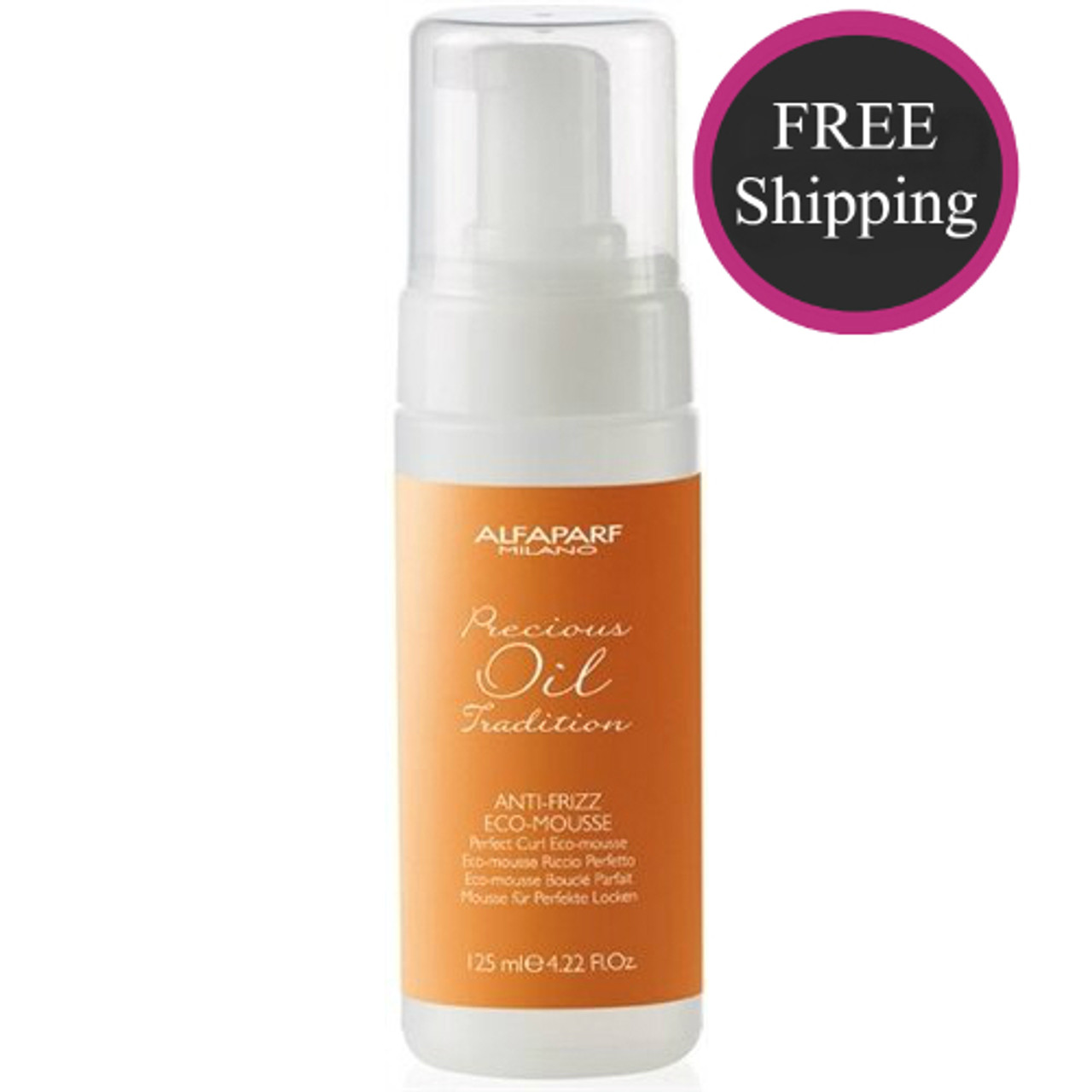 Alfaparf Anti-Frizz Eco Mousse 4.2 oz
