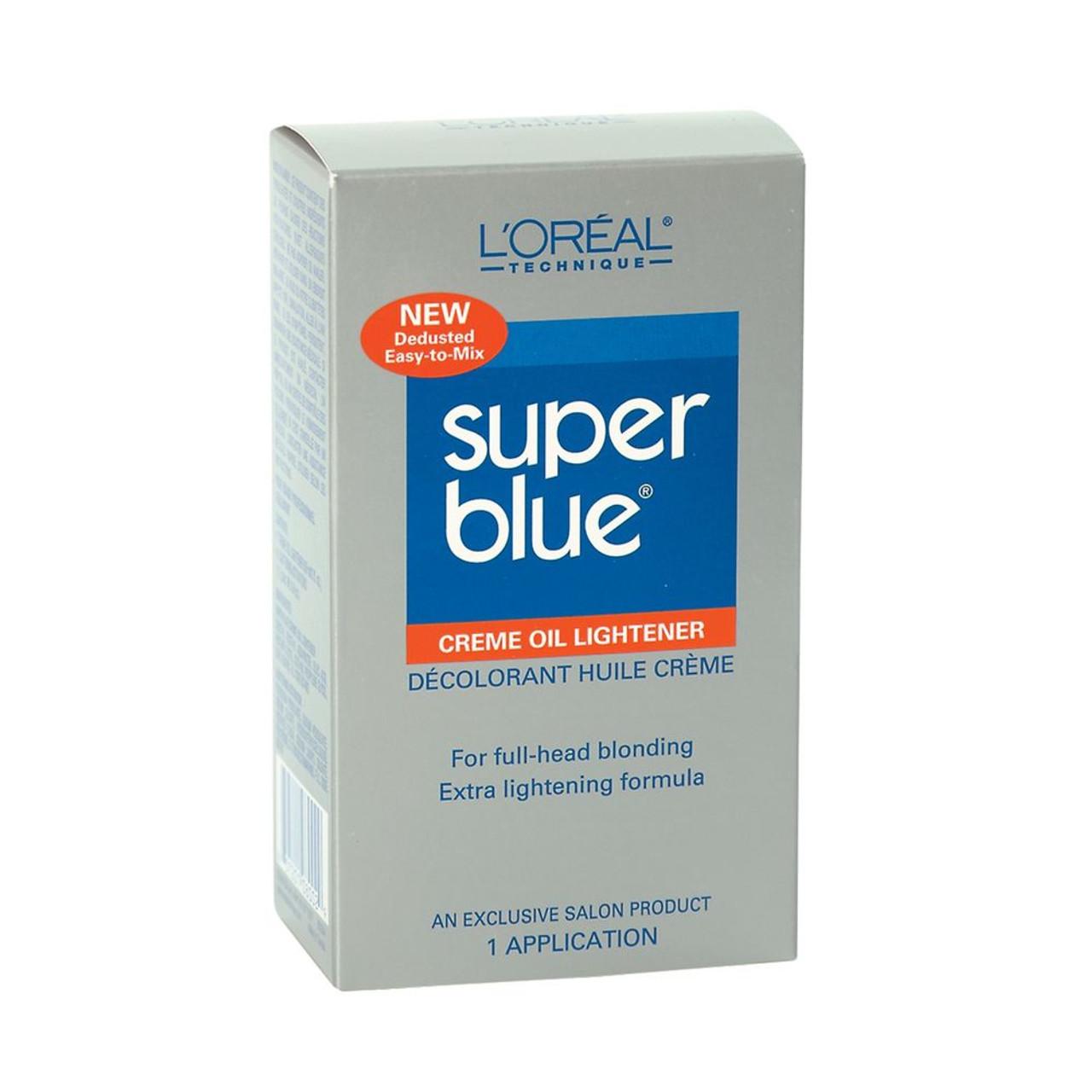 L'Oreal Super Blue Oil Bleach