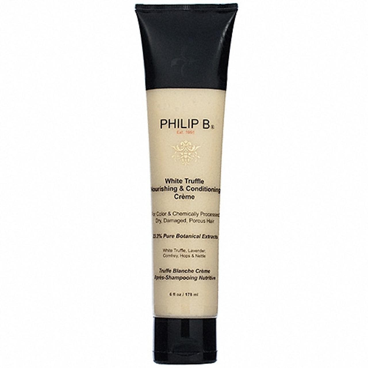 Philip B White Truffle Nourishing & Conditioning Crème 6 oz