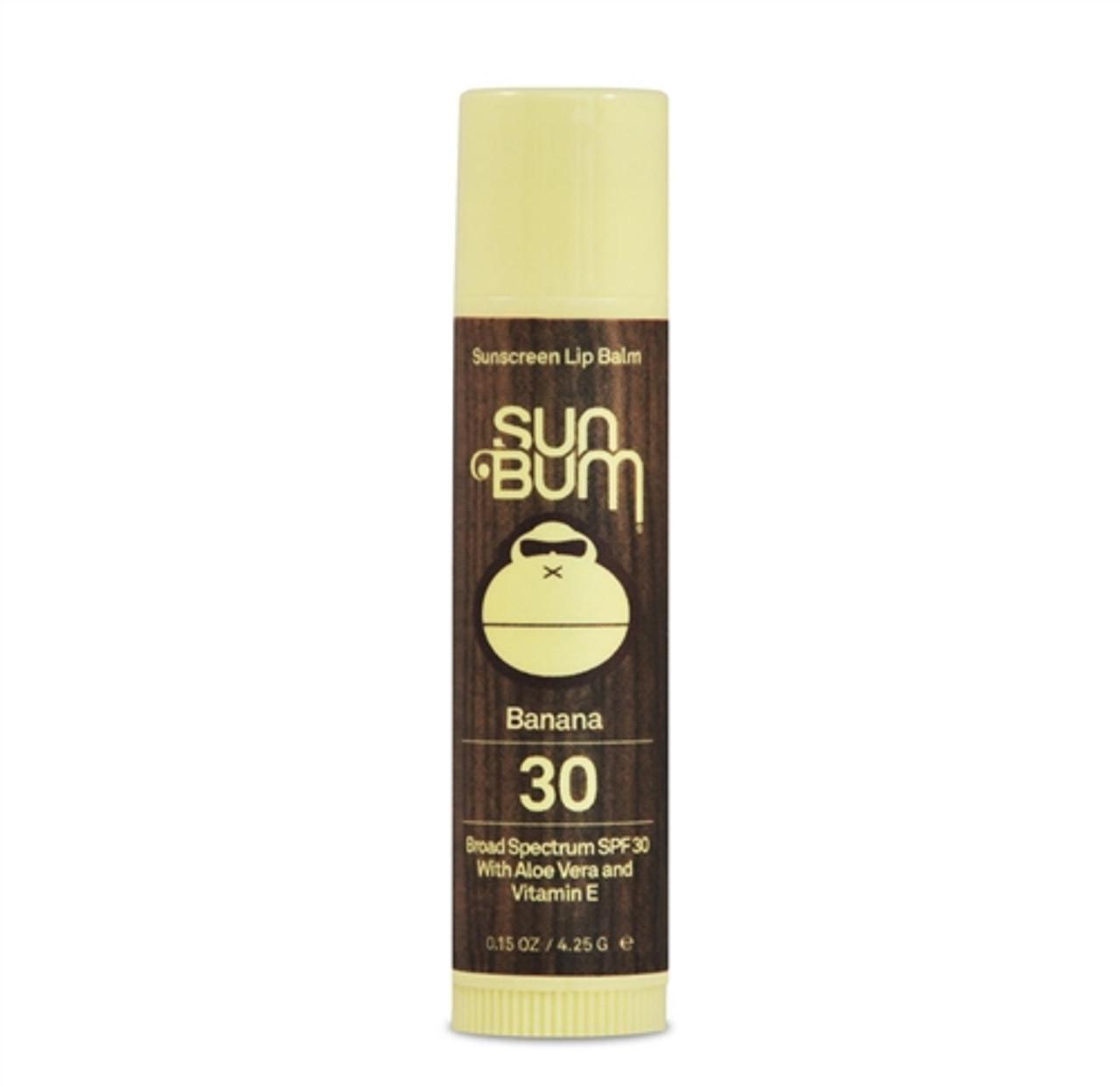 Sun Bum Banana Lip Balm SPF 30
