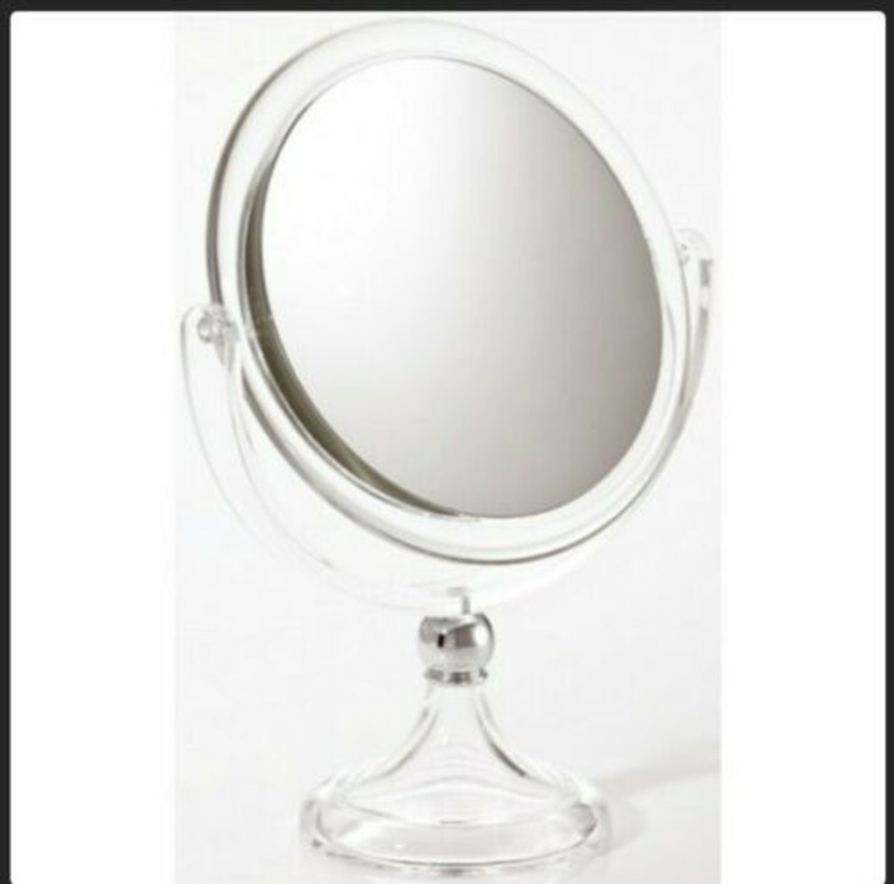 7X Vanity Mirror Lucite