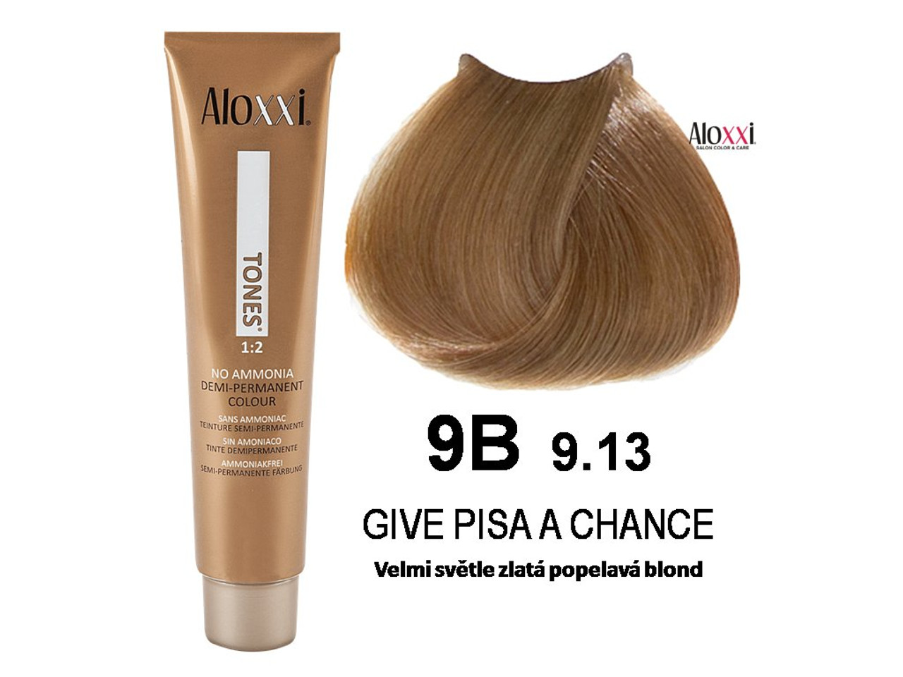 Aloxxi 9B, tube and hair color: Give Pisa a Chance