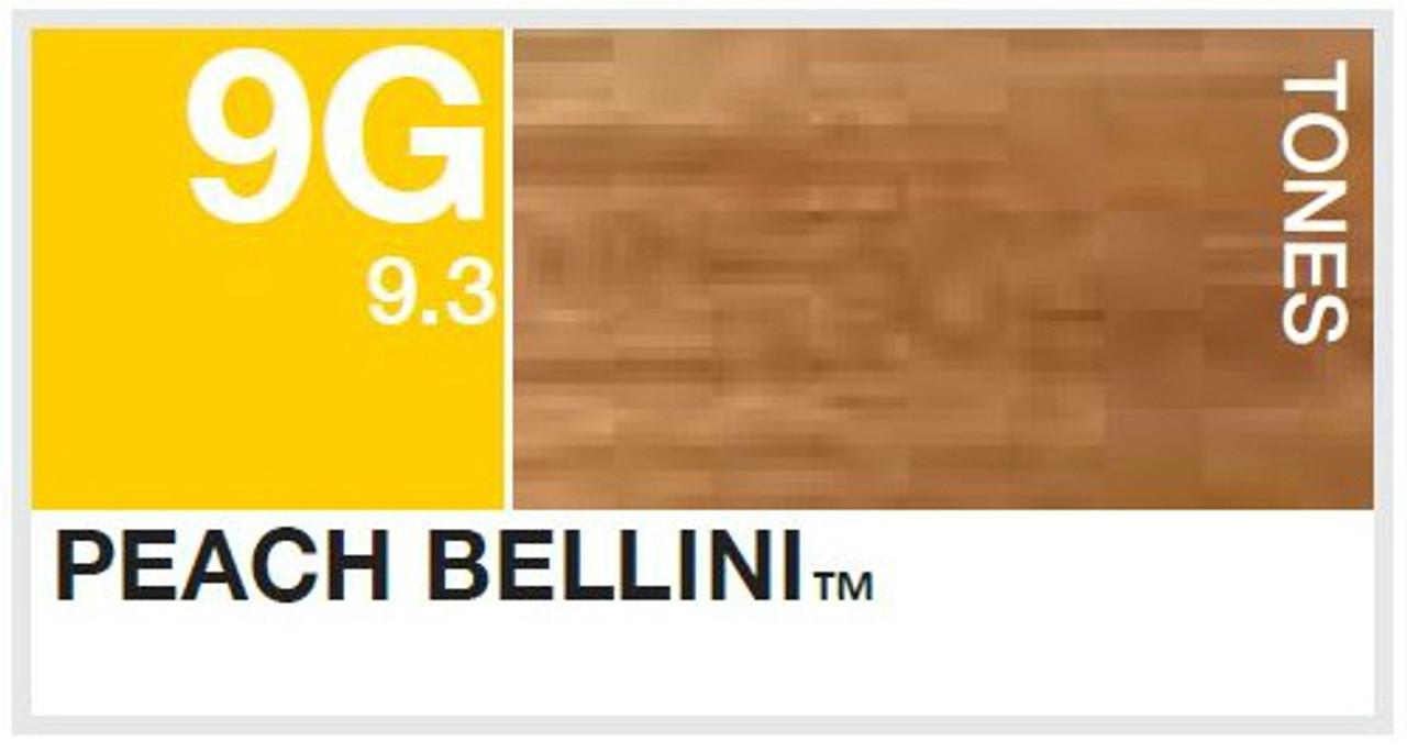 Aloxxi 9G: Peach Bellini color