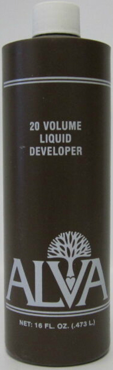 Alva 20 Volume Liquid Developer 16 oz