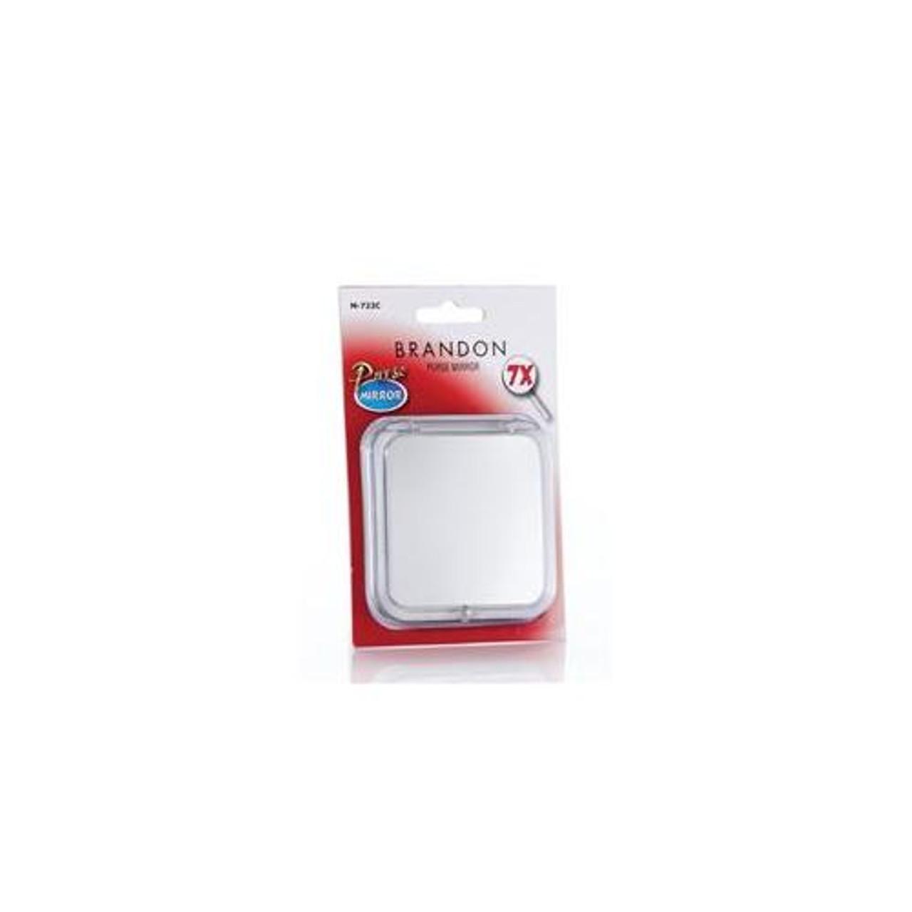 "7X Compact Travel Mirror 4"""