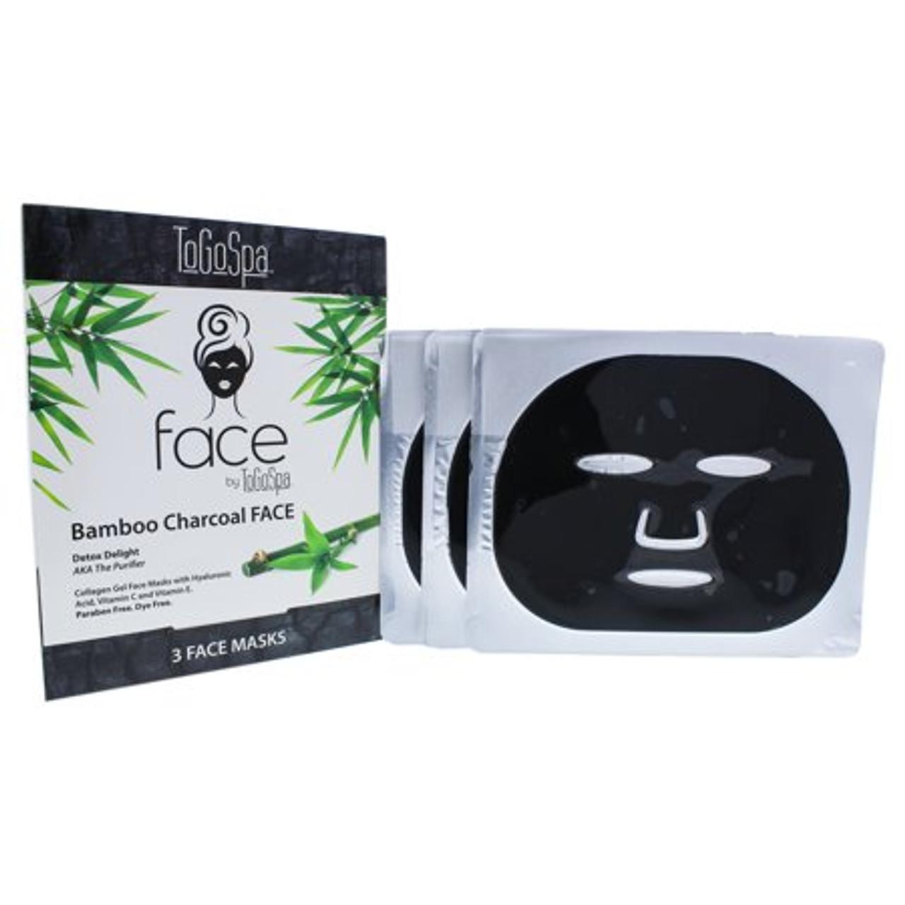 Togo Spa Bamboo Charcoal Mask 3P