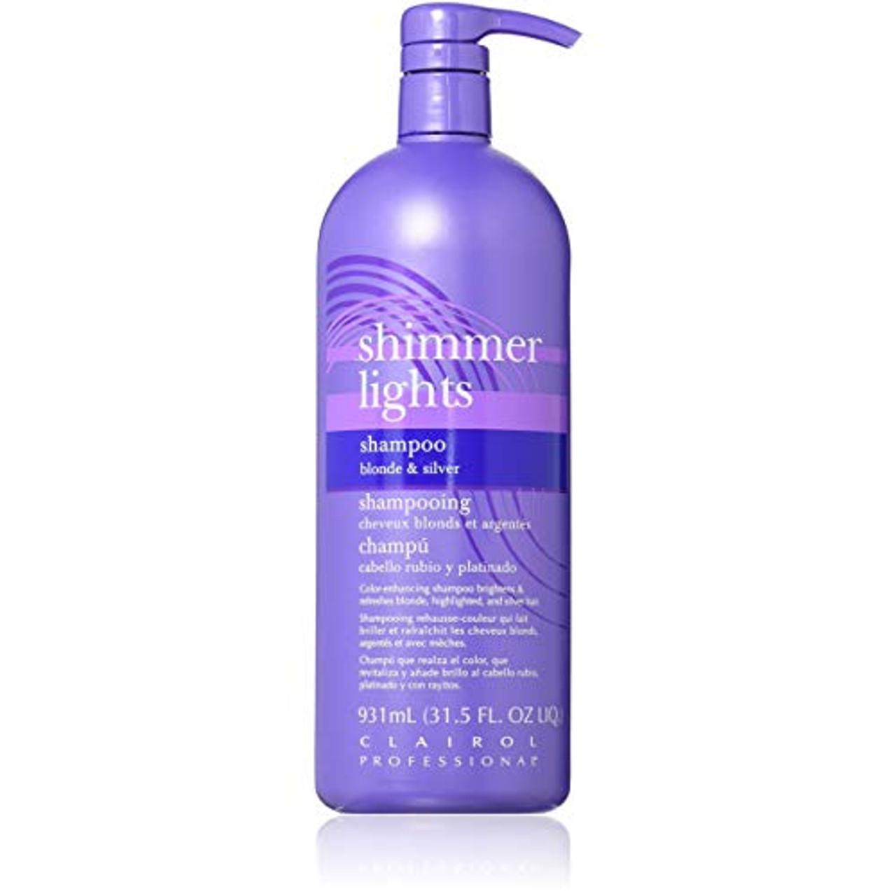 Clairol Shimmer Light Shampoo 32 oz