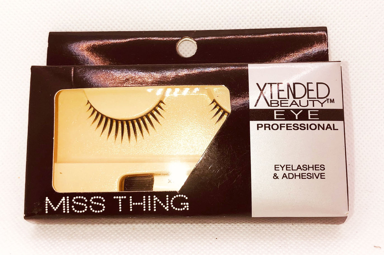Miss Thing Strip Lashes W/Adhe