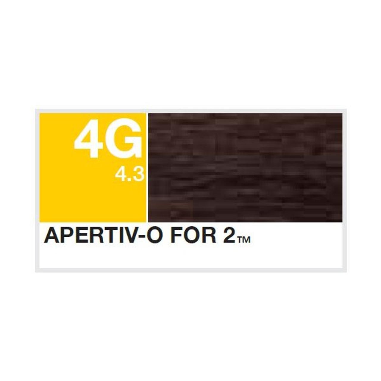 Aloxxi 4G Creme Color:  Apertiv-o for 2