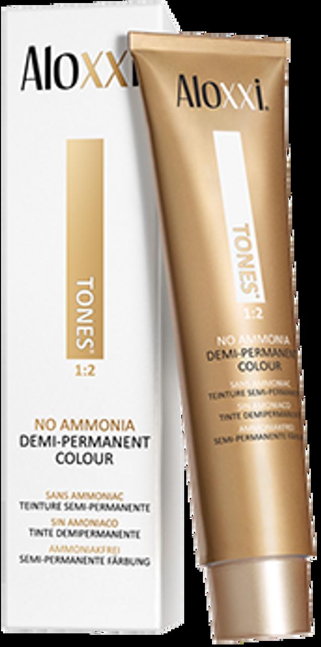 Aloxxi 5NT Creme Color 2 oz: box and tube