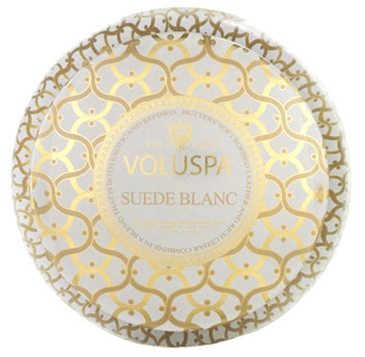 Voluspa Metallo - Suede Blanc