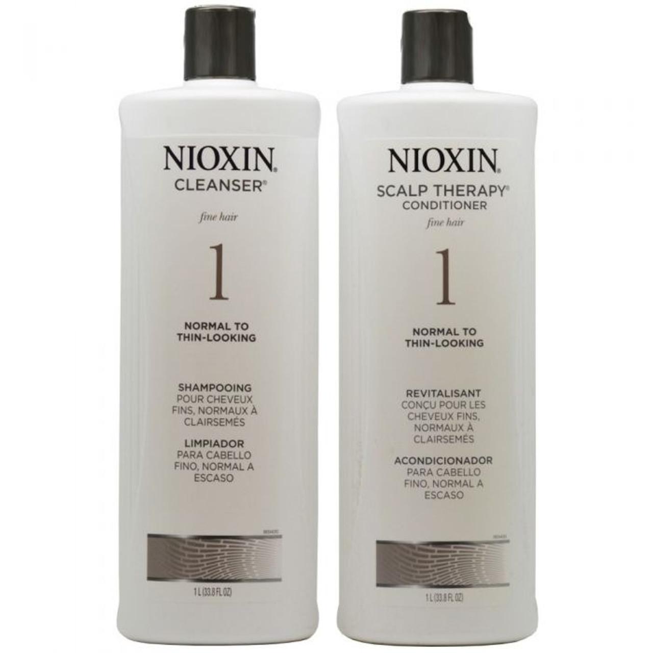 Nioxin System 1 Liter Duo