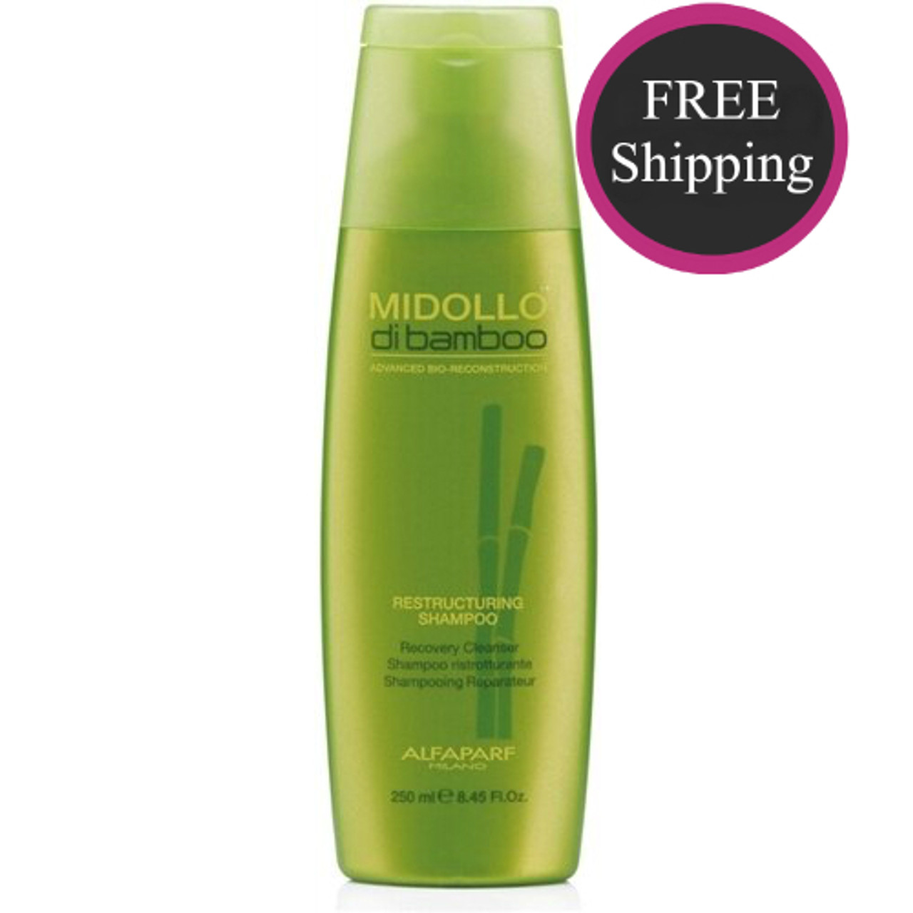Alfaparf Bamboo Restructuring Shampoo 8.5 oz: Free shipping!