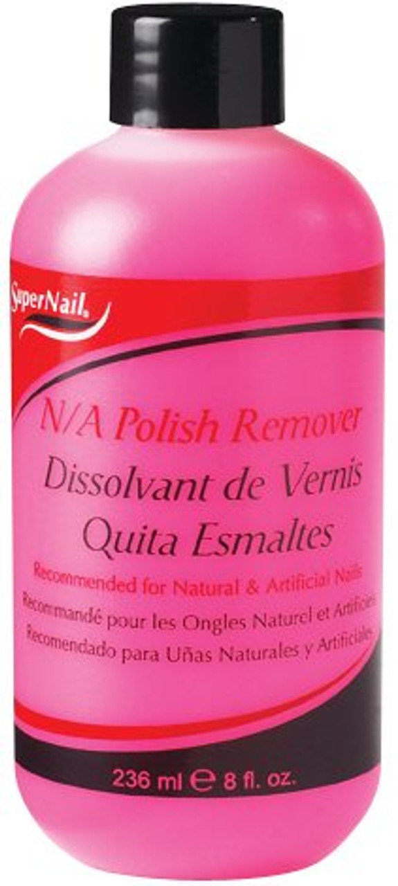 SuperNail N/A Polish Remover for Natural and Artificial Nails 8 Oz