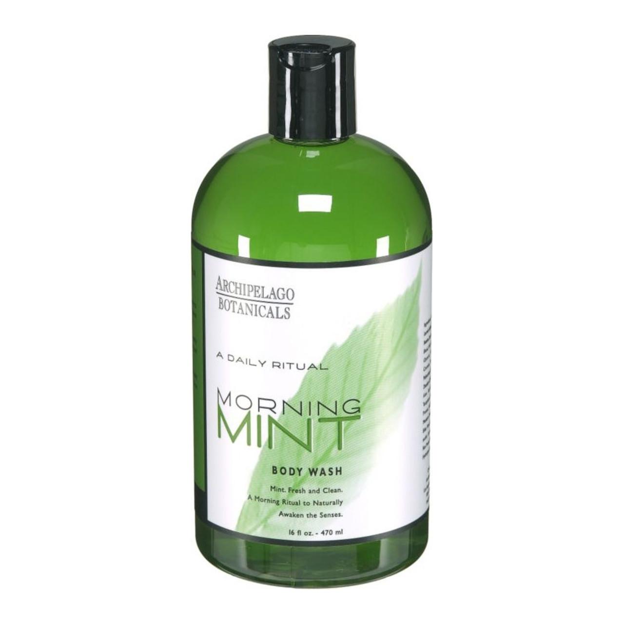 Archipelago Morning Mint Body Wash - 16 OZ