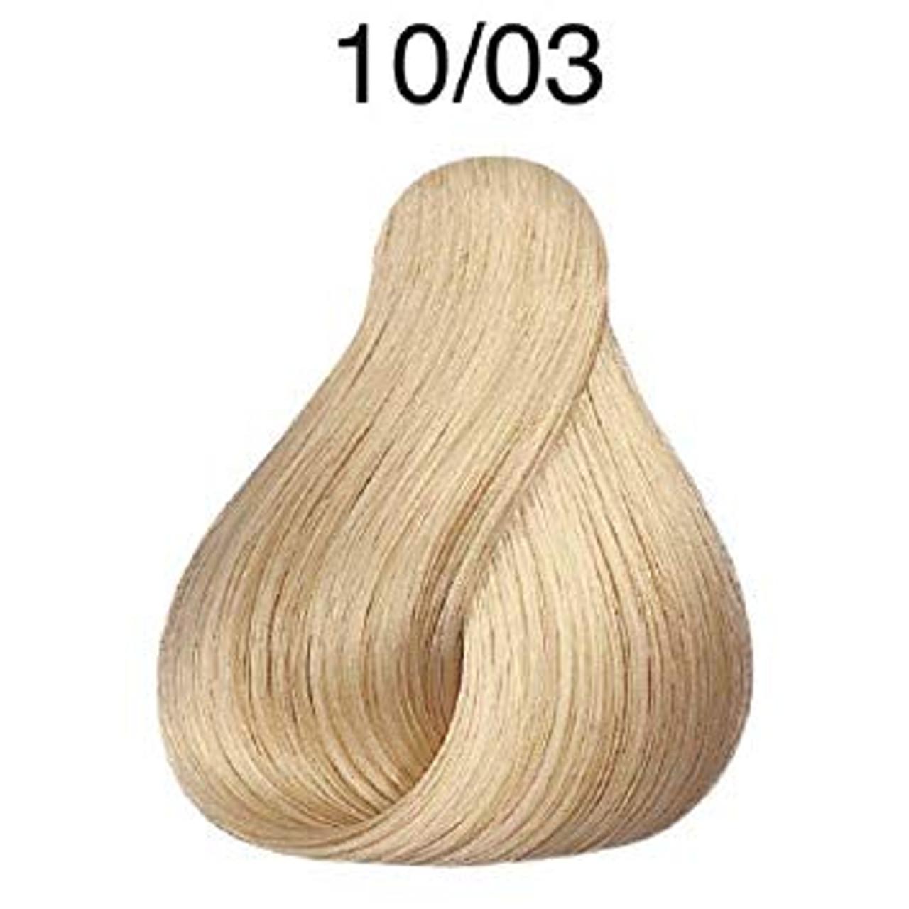 Wella 10/03 Semi-Permanent Hair Color
