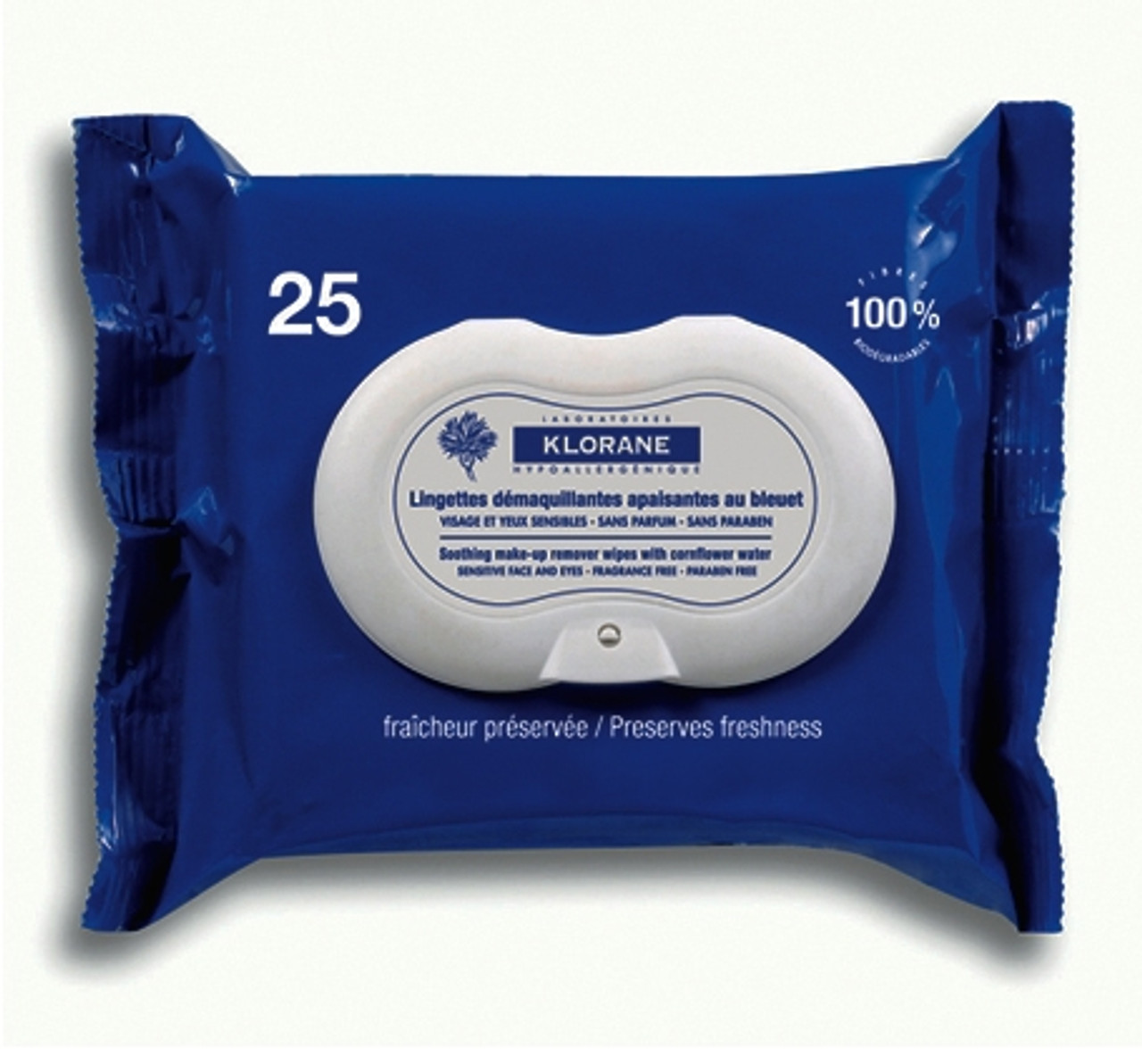 Klorane Soothing Make-Up Removal Wipes