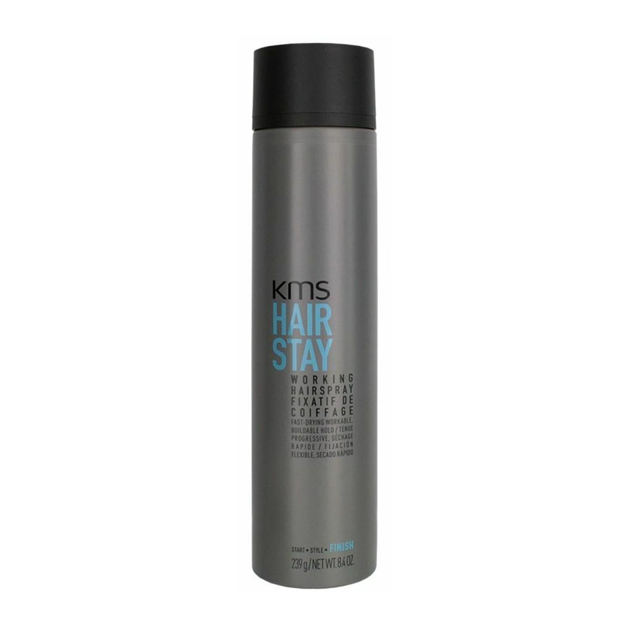 KMS Hair Stay Working Hairspray Finish 8.4 Oz