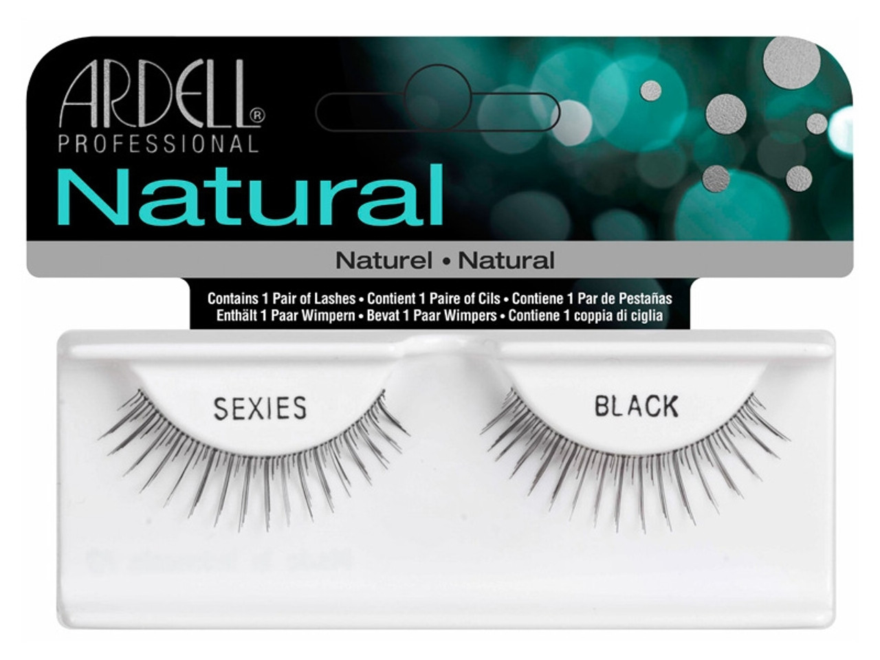 Ardell Natural Lashes - Sexies Black